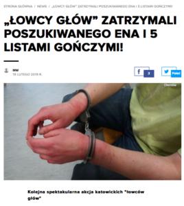 Poszukiwany europejskim nakazem aresztowania